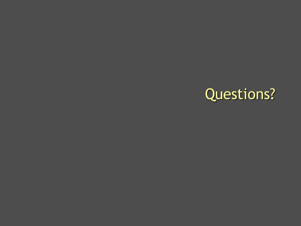 Microsoft Confidential 40 Questions?