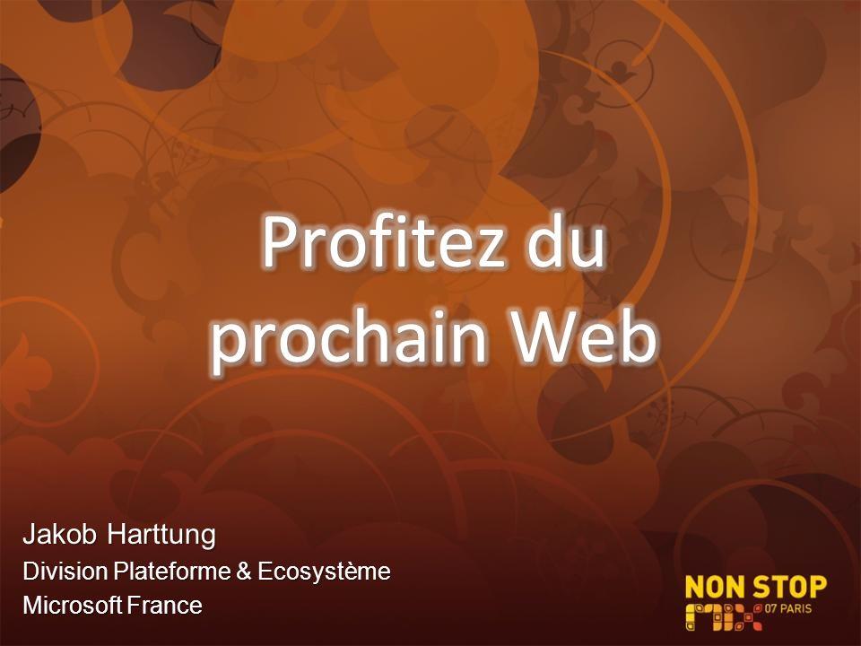 Jakob Harttung Division Plateforme & Ecosystème Microsoft France