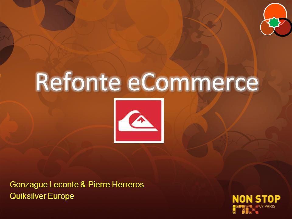 Gonzague Leconte & Pierre Herreros Quiksilver Europe