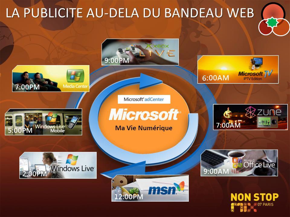 LA PUBLICITE AU-DELA DU BANDEAU WEB Ma Vie Numérique