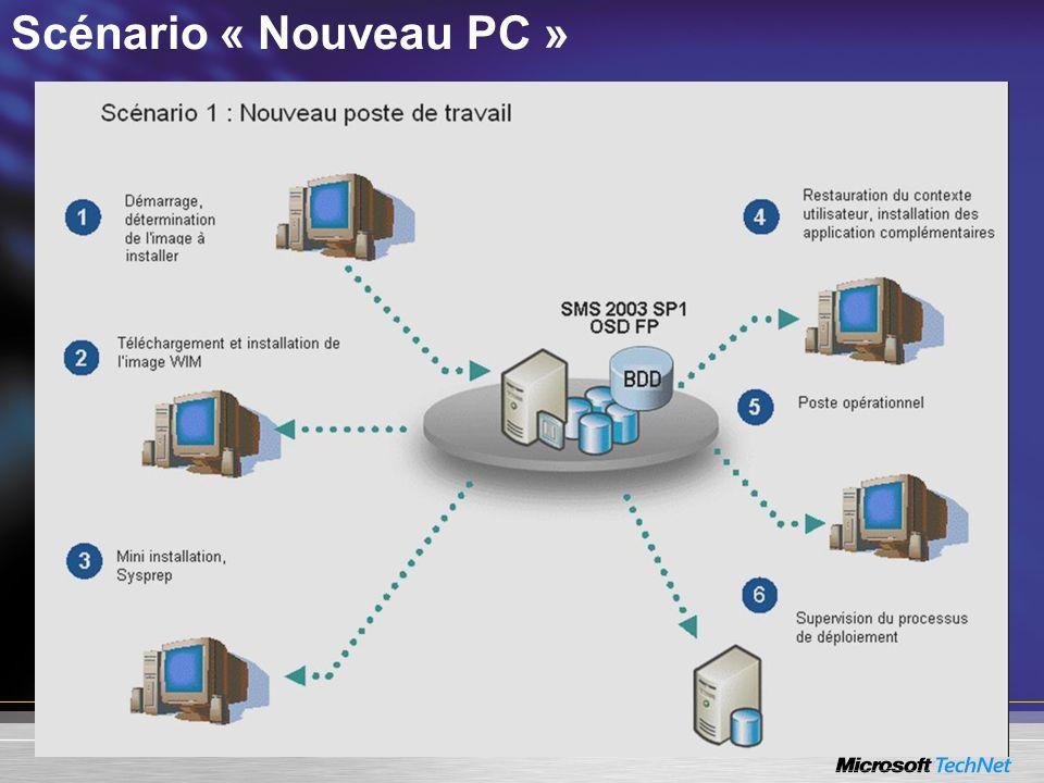 Scénario « Nouveau PC »