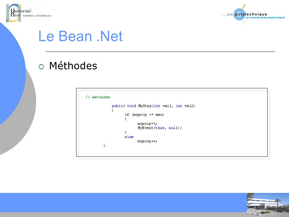 CC Le Bean.Net Méthodes