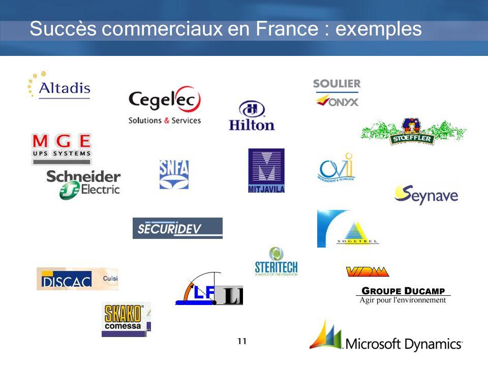 11 Succès commerciaux en France : exemples
