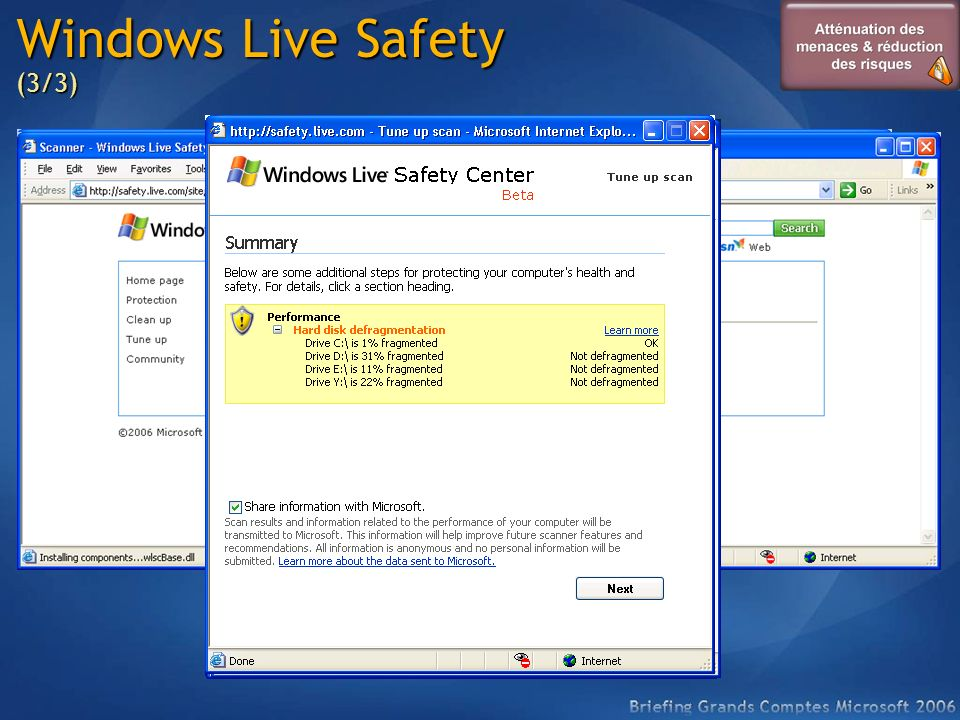 Windows Live Safety (3/3)