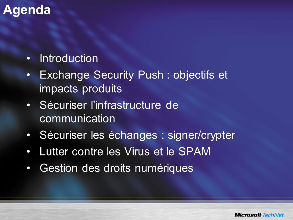 ISA Server 2004 au bout du tunnel SSL : –Inspection du trafic HTTP.
