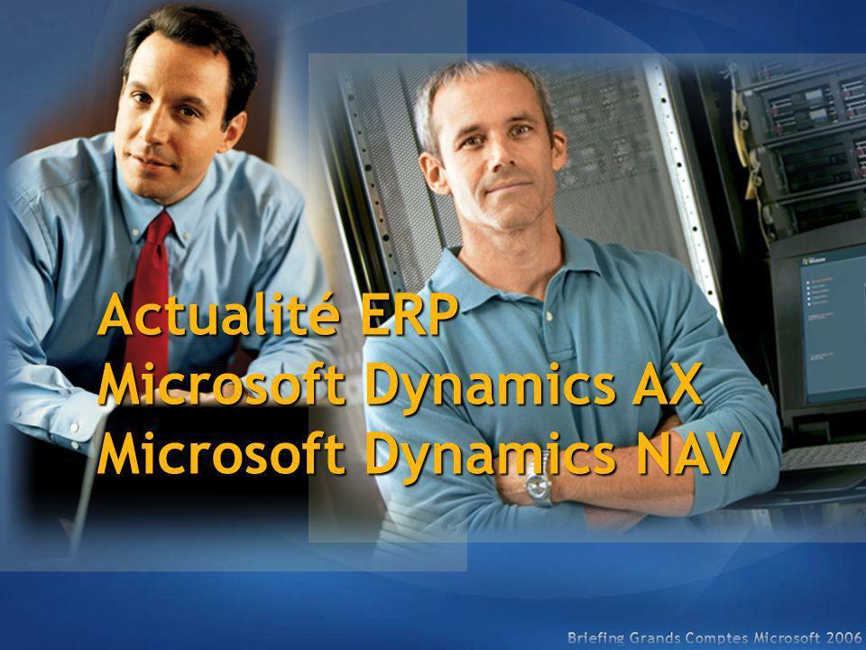 Microsoft Dynamics NAV et AX Négoce, Industrie, Services Négoce, Industrie, Services Sociétés autonomes, filiales de groupes Sociétés autonomes, filiales de groupes Quelles entreprises .