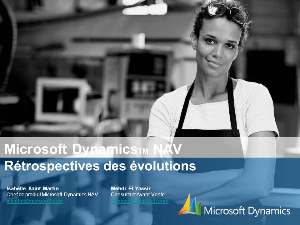 2 Retour sur lhistoire… Version 1.1 du progiciel pour Windows 95 Introduction en France en 1997 1998 Version 2 1999 2000 Commerce électronique 2001 CRM, Production, multi langues 2005 MBS Navision4.0 MBS Navision 4.0 Version 2.6 (Financials) Version 3.01 (Attains) MBS Navision 3.6 2002 MBS Navision 3.7 2003 Distribution avancée SQL
