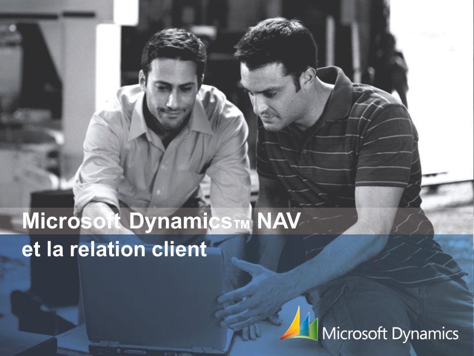 Microsoft Dynamics TM NAV Isabelle Saint-Martin Mehdi El Yassir Chef de produit Microsoft Dynamics NAV Consultant Avant-Vente isaintm@microsoft.com el