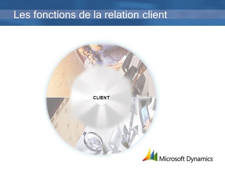 13 Les fonctions de la relation client CLIENT