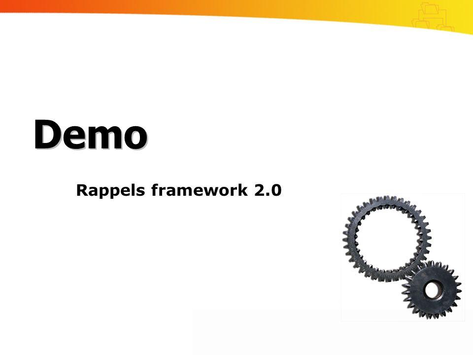 Rappels framework 2.0 Demo