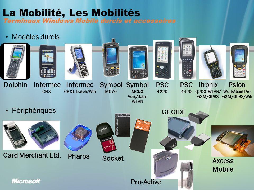 La Mobilité, Les Mobilités Terminaux Windows Mobile durcis et accessoires Modèles durcis Périphériques Card Merchant Ltd.
