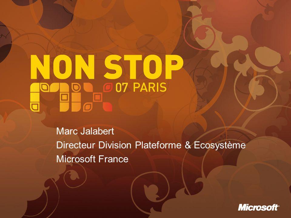 Marc Jalabert Directeur Division Plateforme & Ecosystème Microsoft France