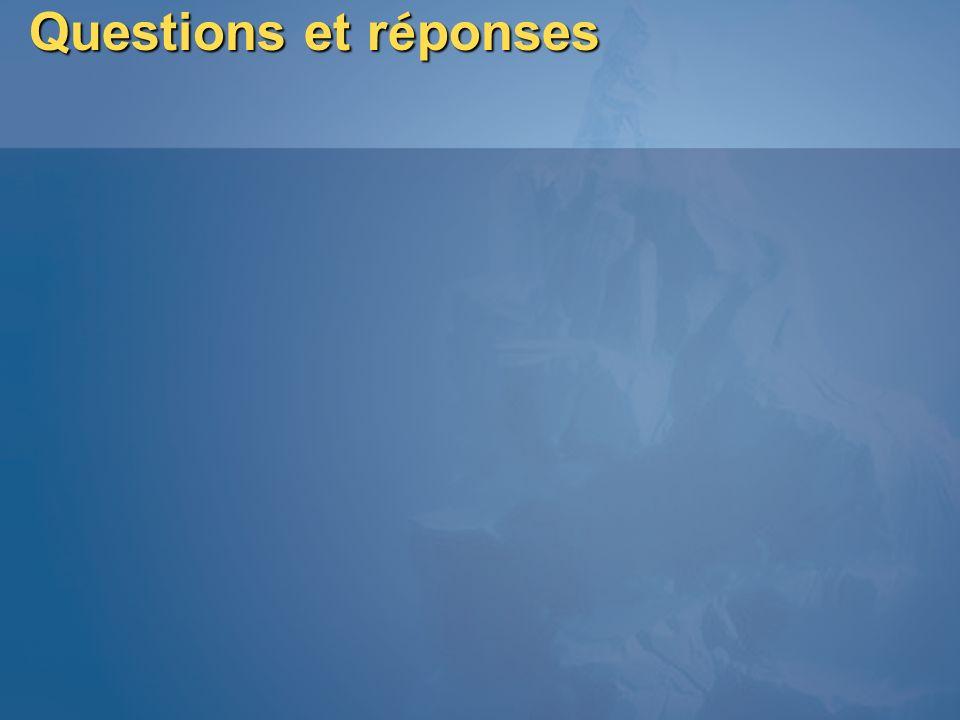 Questions et r é ponses