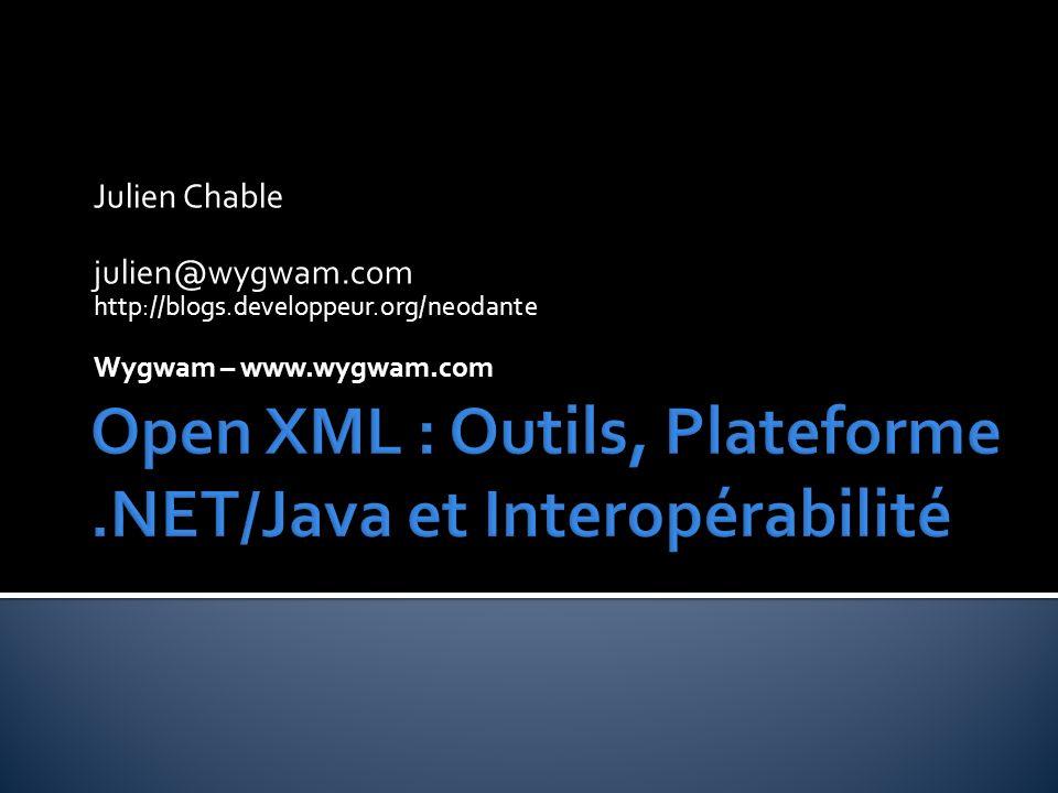 Julien Chable julien@wygwam.com http://blogs.developpeur.org/neodante Wygwam – www.wygwam.com