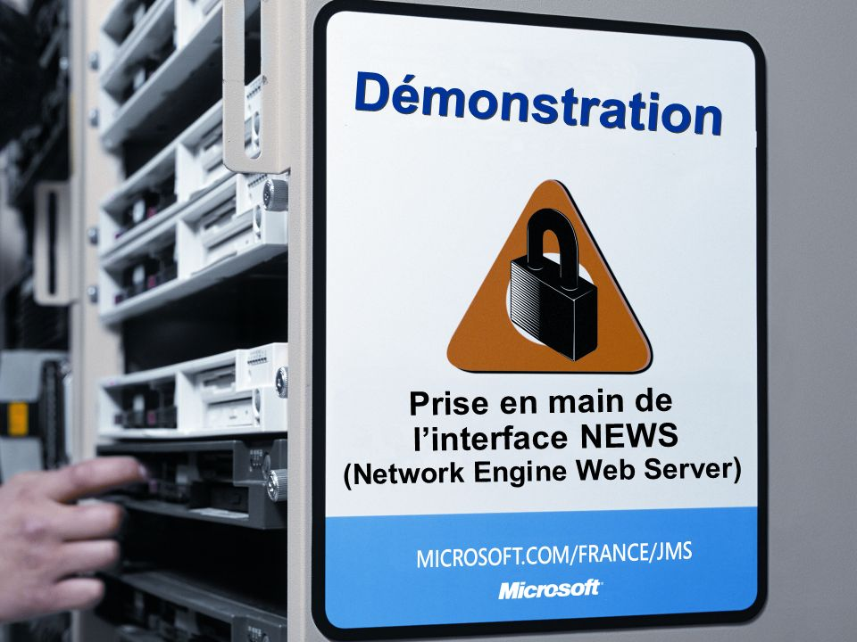 Démonstration Prise en main de linterface NEWS (Network Engine Web Server)