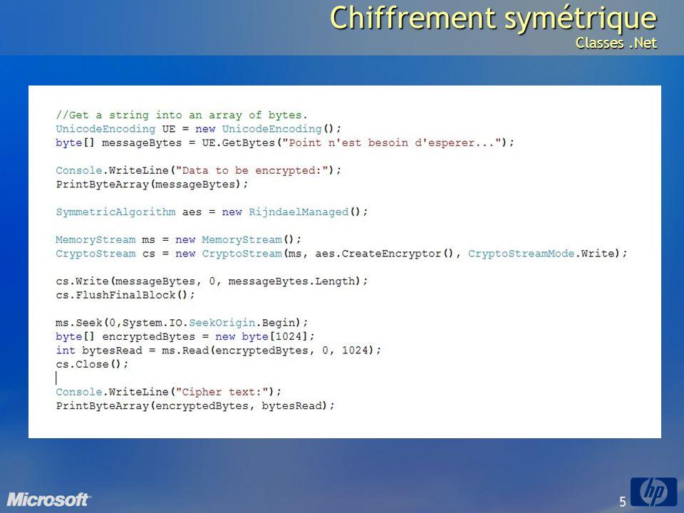 5 Chiffrement symétrique Classes.Net
