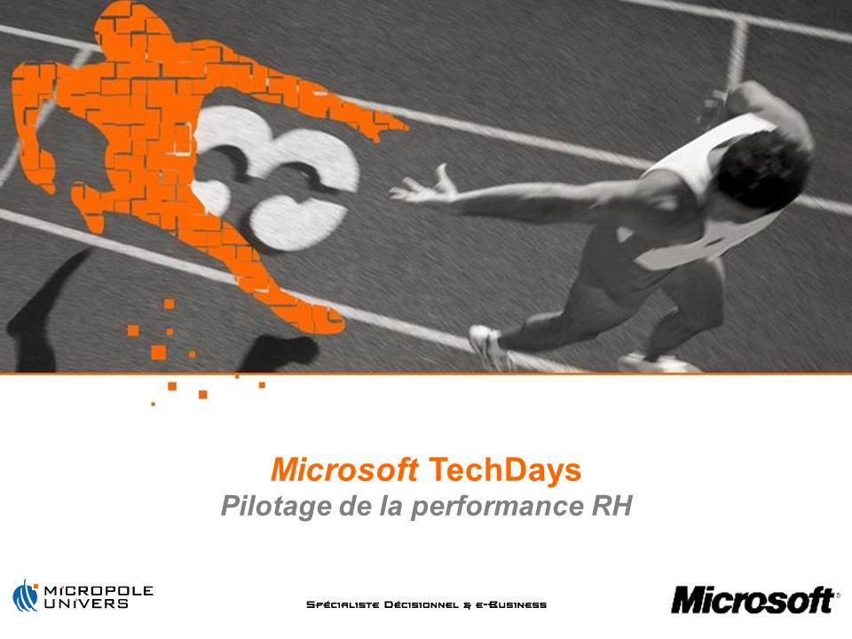 2 Partenariat Microsoft / Micropole-Univers Problématiques Ressources Humaines Résolution dun cas concret Conclusion Questions / Réponses Agenda