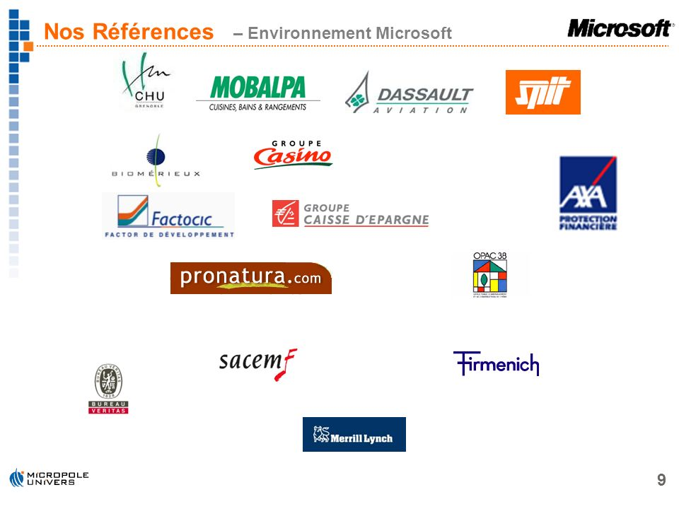20 Partenariat Microsoft / Micropole-Univers Problématiques Ressources Humaines Résolution dune problématique concrète Conclusion Questions / Réponses Agenda