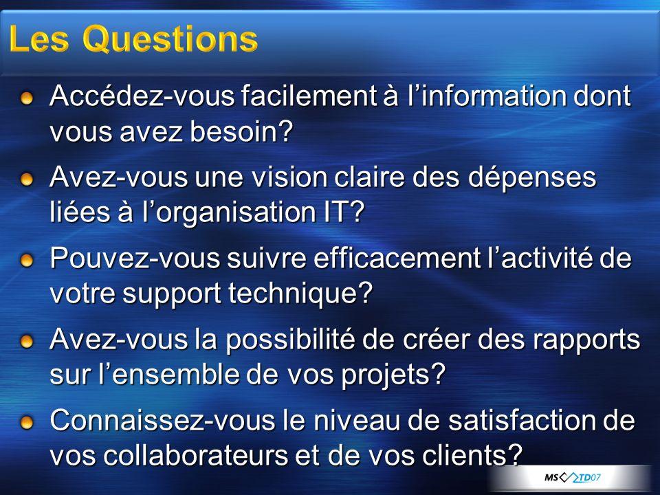 La solution de Tableau de Bord DSI : Unifie en un point central lensemble des informations critiques de lorganisation IT.