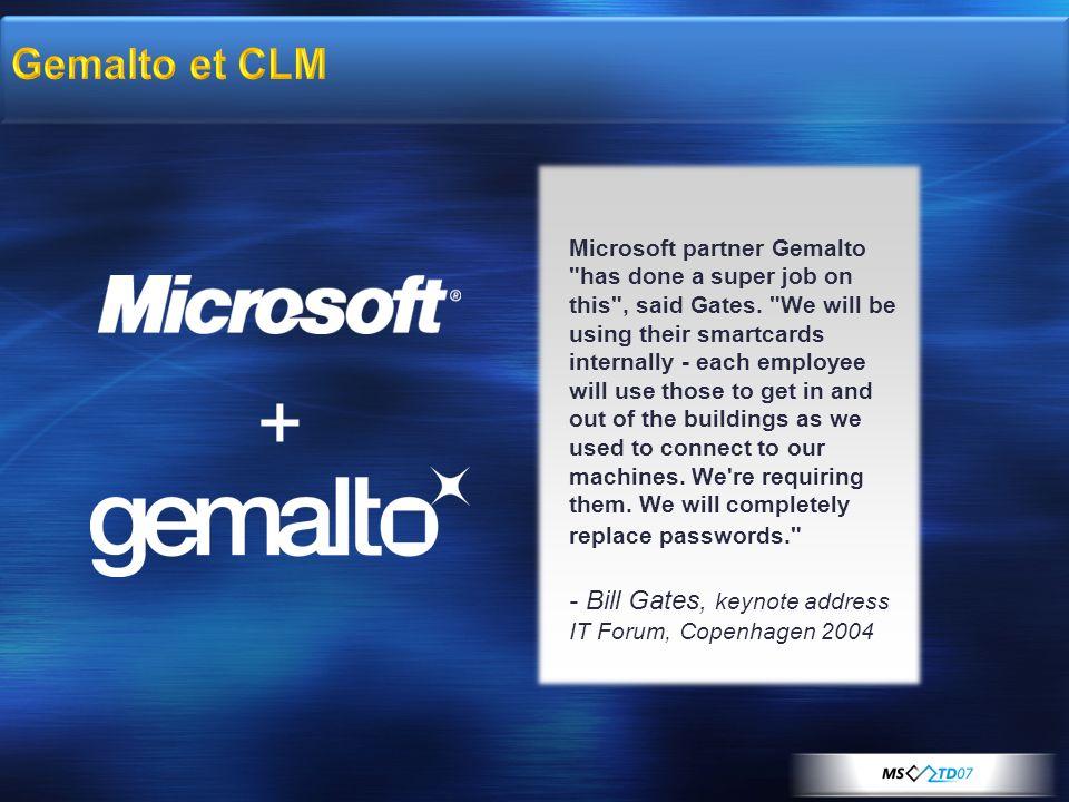 + Microsoft partner Gemalto