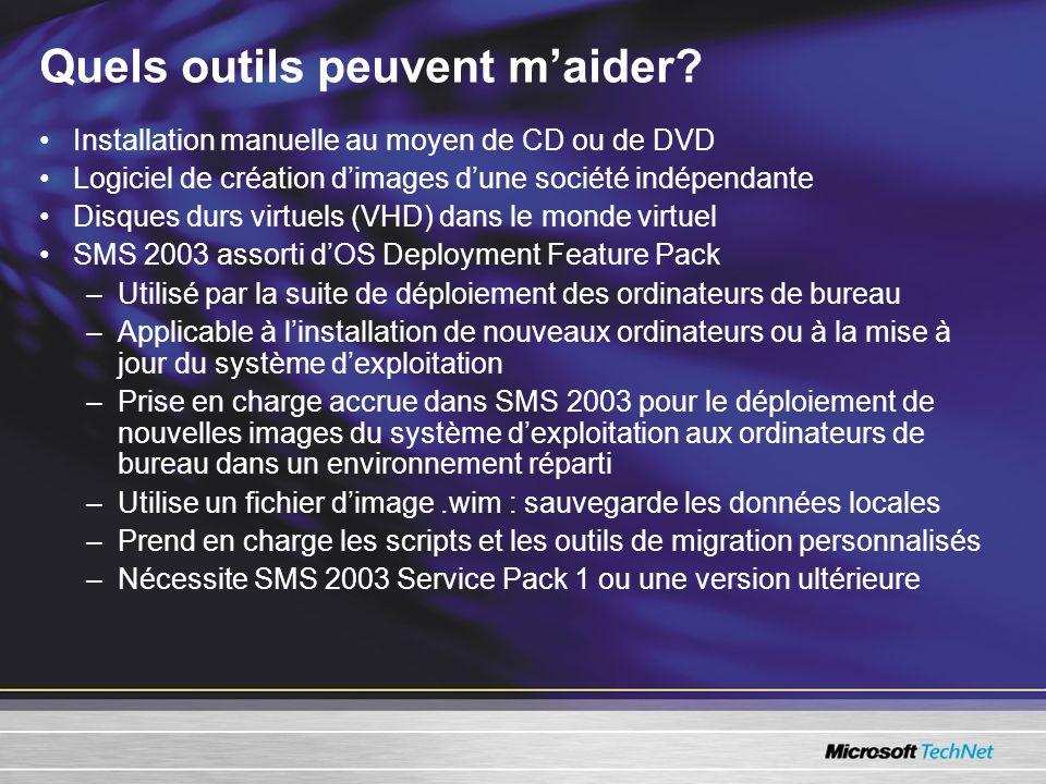 Installation manuelle au moyen de CD ou de DVD Logiciel de création dimages dune société indépendante Disques durs virtuels (VHD) dans le monde virtue