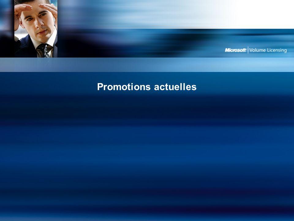 Promotions actuelles