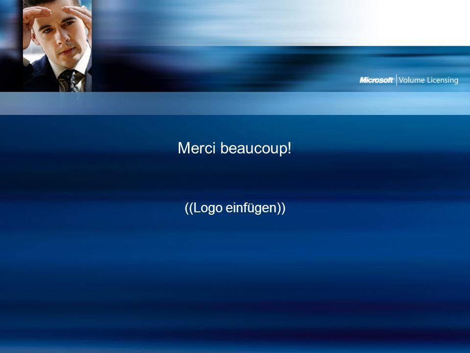 Merci beaucoup! ((Logo einfügen))