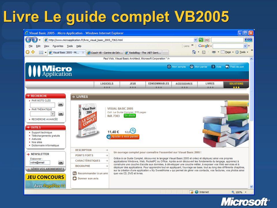 Livre Le guide complet VB2005