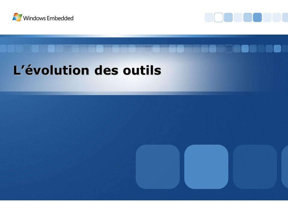 Lévolution des outils