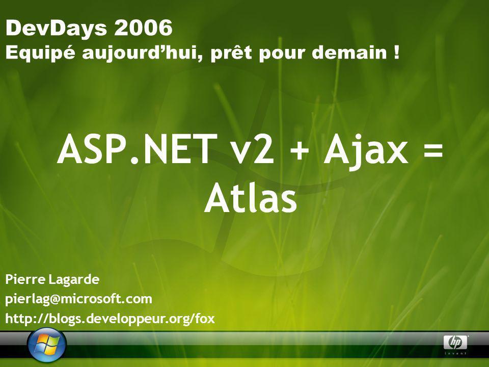 Agenda Le concept Ajax .