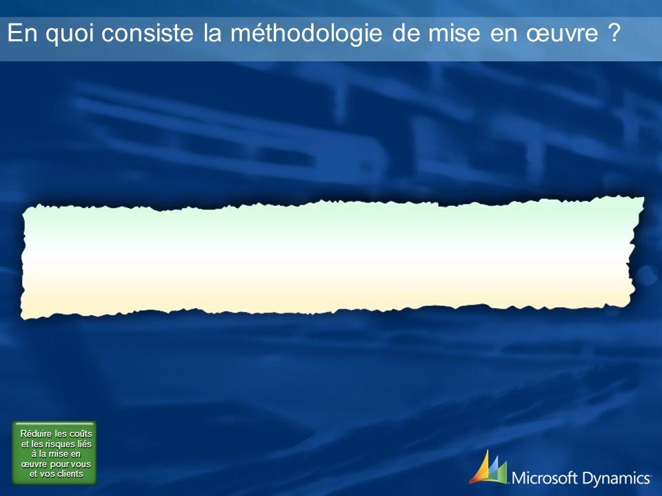 En quoi consiste la méthodologie de mise en œuvre .