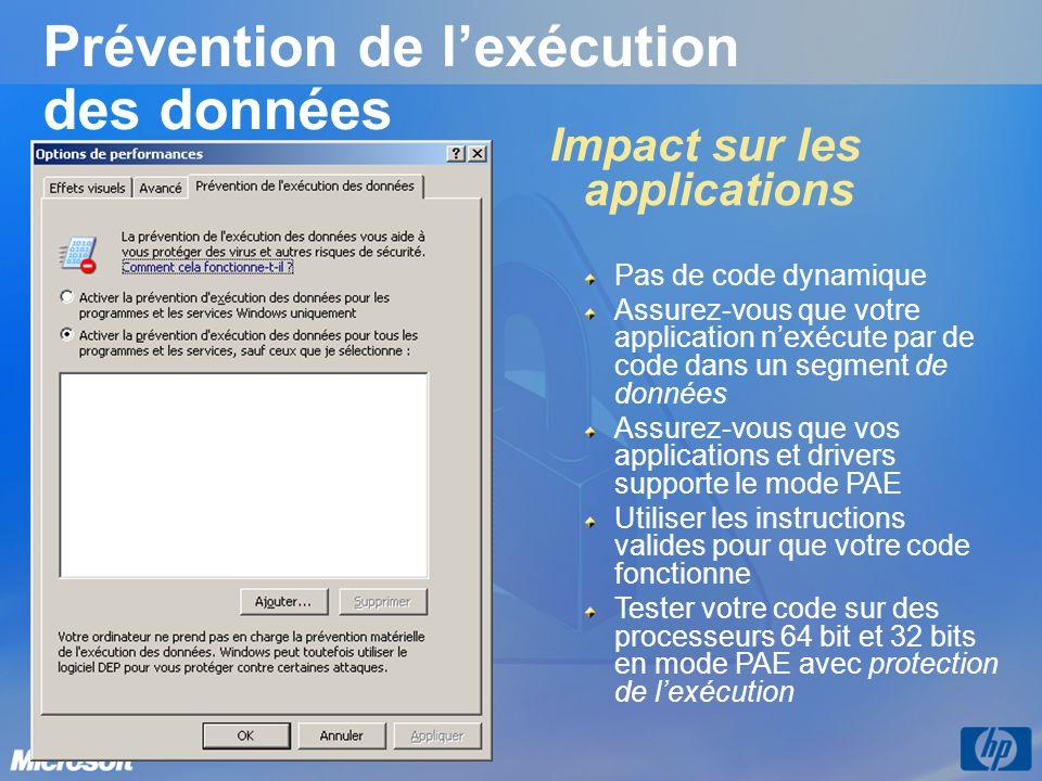 Windows Server 2003 SP1 Quelques autres nouveautés Access-based Enumeration – ne montrer aux utilisateurs que les fichiers et répertoires auxquels ils ont accès.
