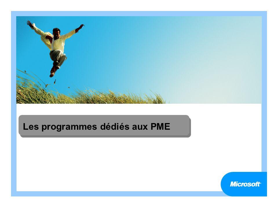 Les programmes dédiés aux PME