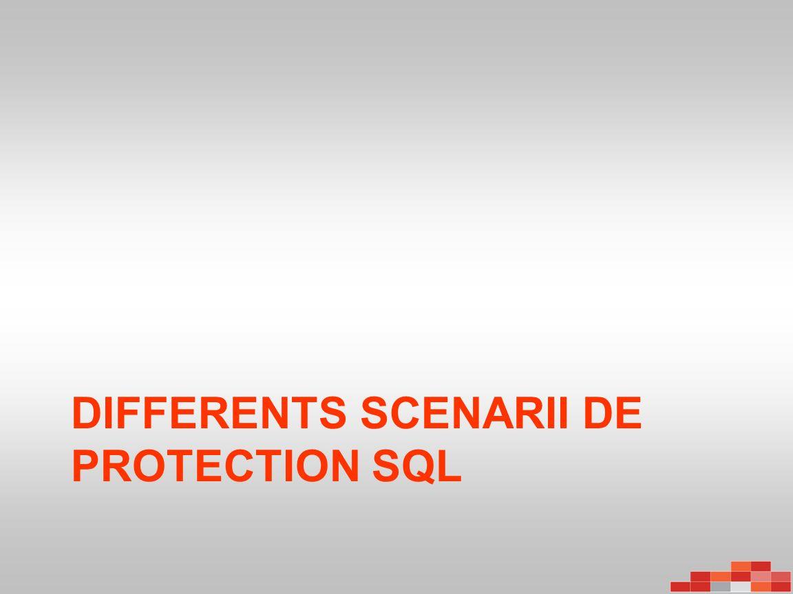 Protection de SQL Server Réplication Initiale – 1x la taille de la BD + 1 jour de journaux de transactions Sauvegarde Express full –Optimisé par le nouvel agent afin de peaufiner lespace et le temps pris – Seulement les blocks modifiés sont envoyés – Au moins une fois par semaine .
