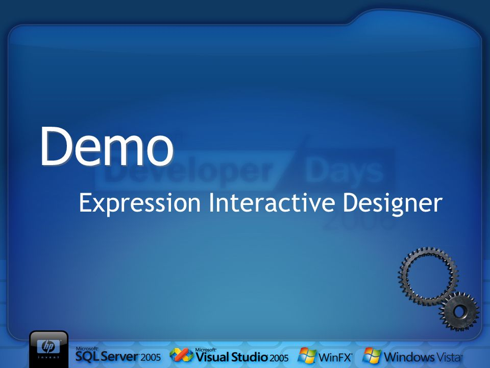 Expression Interactive Designer Demo