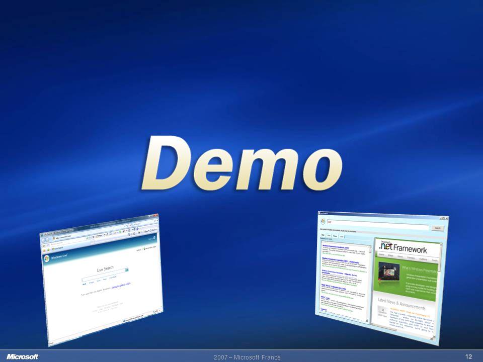 2007 – Microsoft France 12