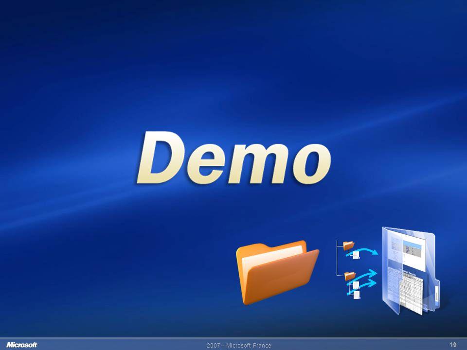 2007 – Microsoft France 19