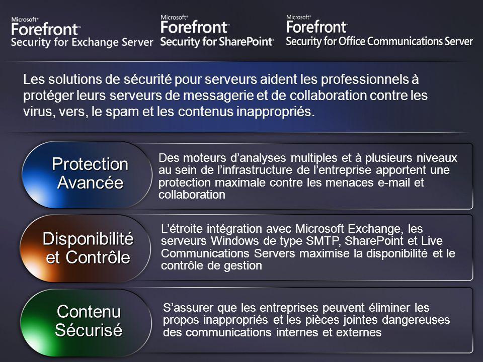 Les solutions de sécurité pour serveurs aident les professionnels à protéger leurs serveurs de messagerie et de collaboration contre les virus, vers,