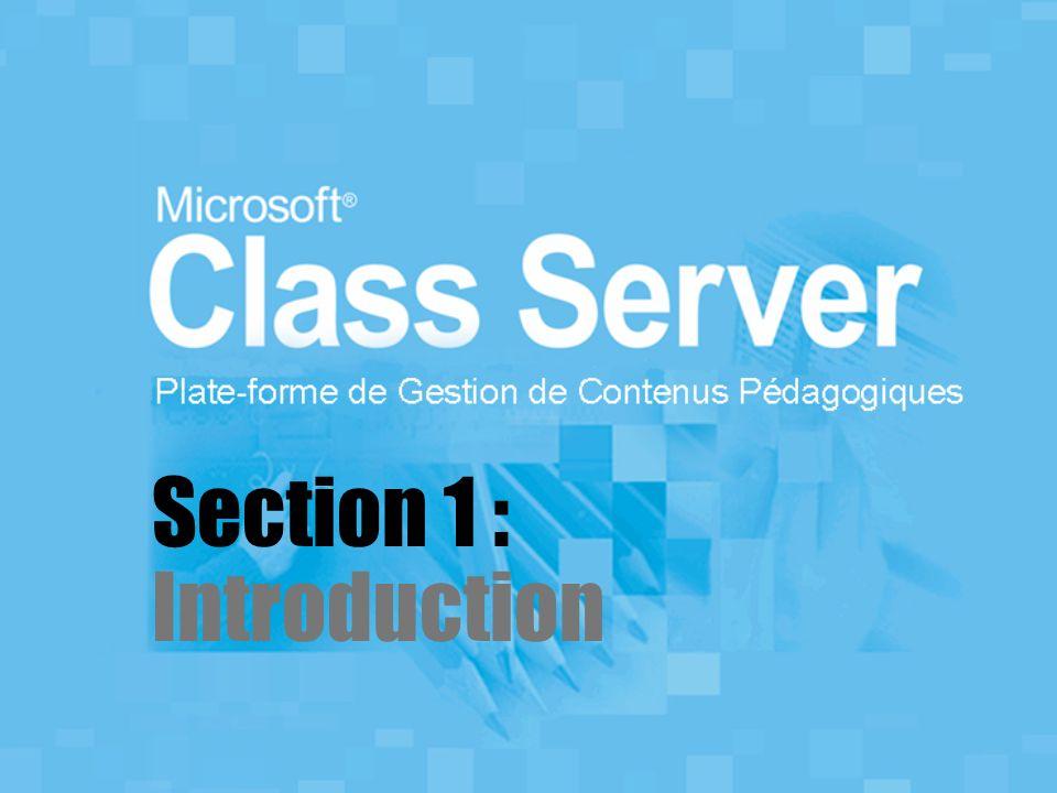 Bienvenue Bienvenue à cet atelier sur Class Server 3.0.
