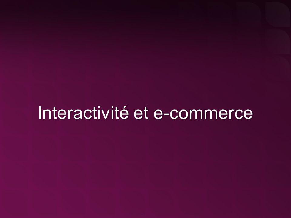 Interactivité et e-commerce