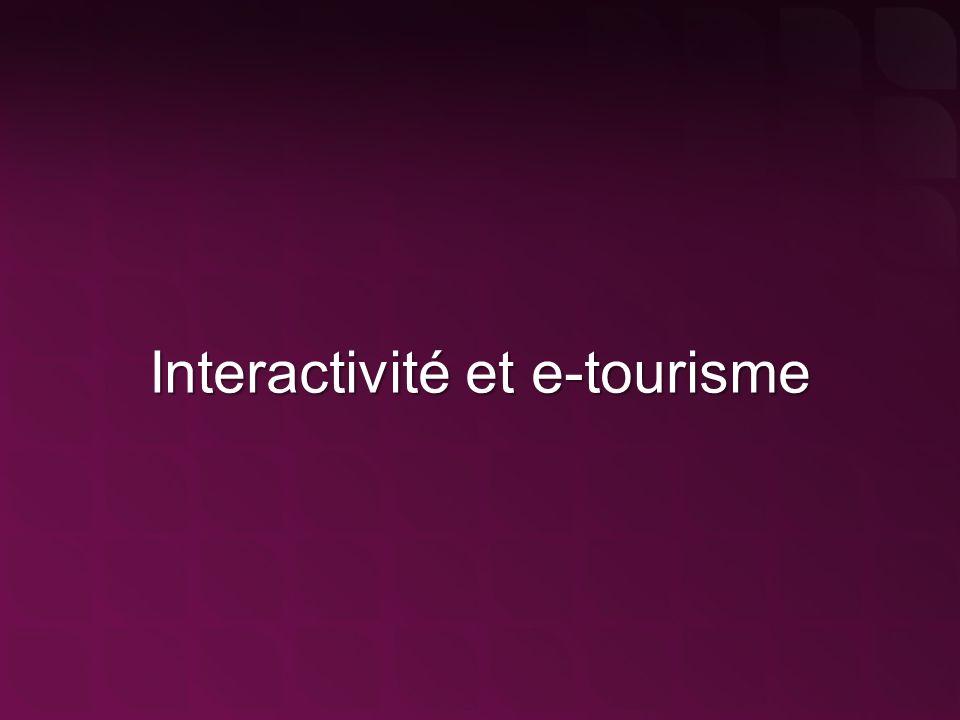 Interactivité et e-tourisme