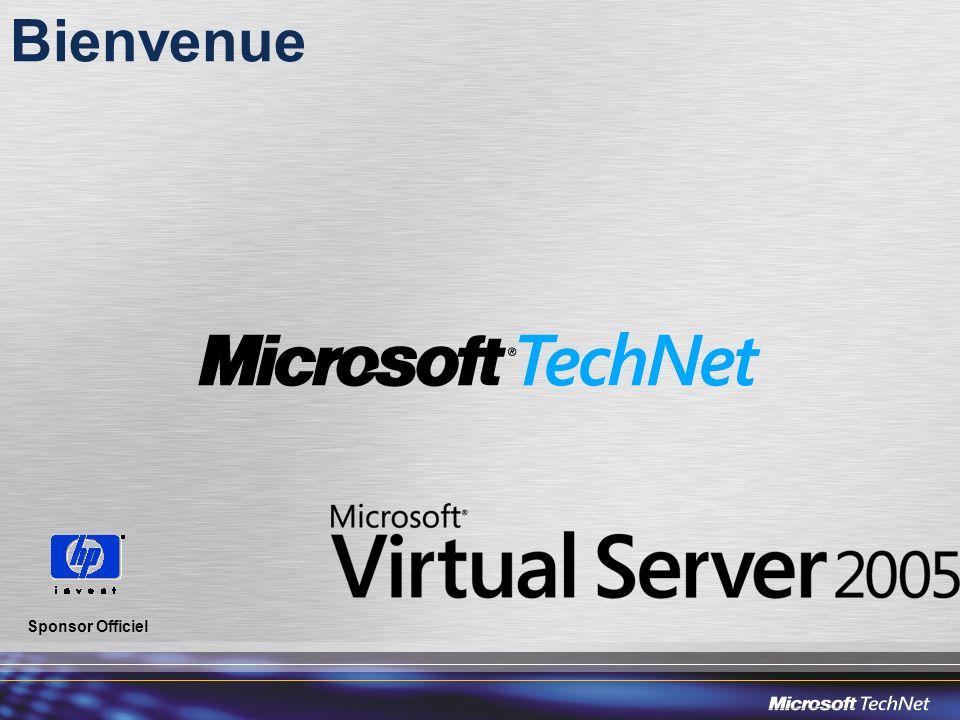 Possibilités des réseaux virtuels Cartes Virtuelles cartes virtuelles Réseau virtuel privé Caractéristiques des réseaux virtuels Serveur Web Applications Métier Base de données Serveur physique Réseau interne Réseau public Physical NICs Bridged virtual network Virtual DHCP Server VMVMVM Virtual Switch