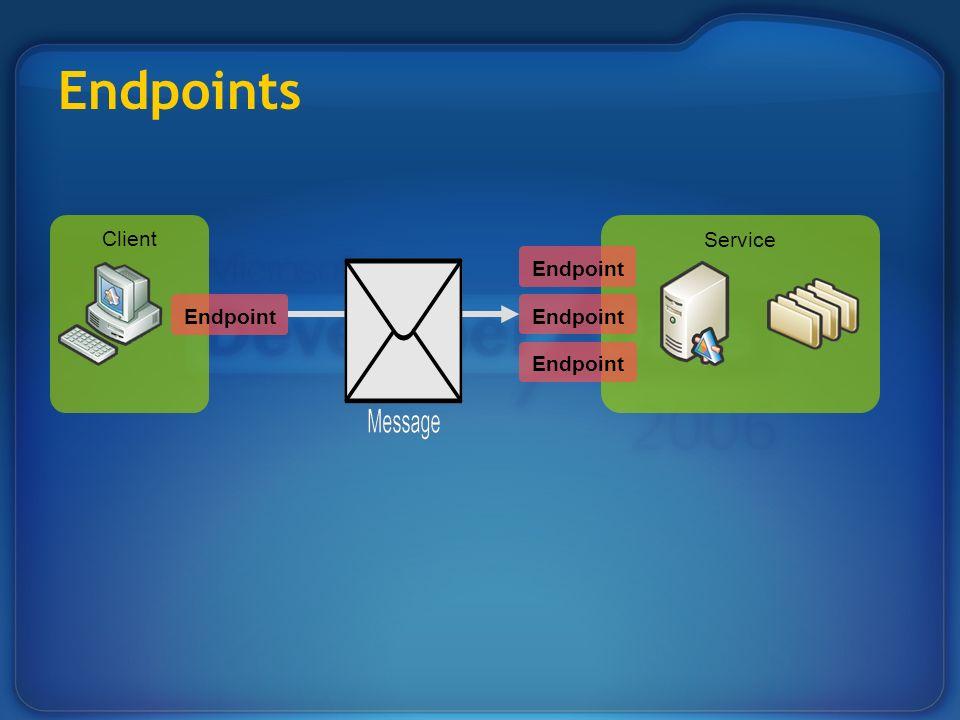 Client Service Endpoints Endpoint