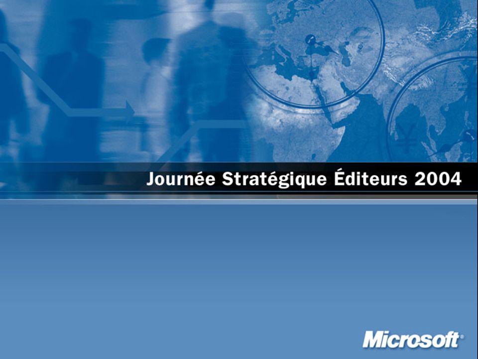 La future génération de solutions dentreprises Daniel COHEN-ZARDI Responsable Relation Editeurs de logiciels Microsoft France danico@microsoft.com 1ère Partie