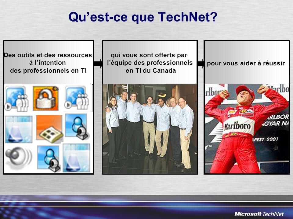 Quest-ce que TechNet.