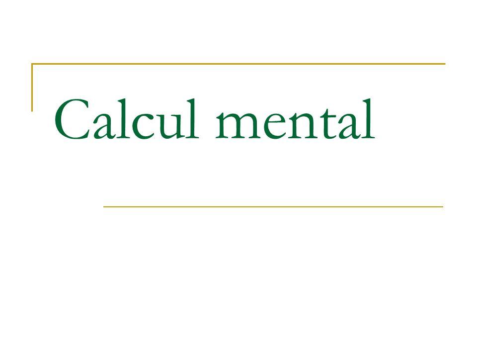 Extrait du programme 2005 de 6 ème résolution de problème « La maîtrise des différents moyens de calcul doit devenir suffisante pour ne pas faire obstacle à la résolution de problème, lélève étant capable de faire le choix du moyen de calcul le plus approprié dans une situation donnée.