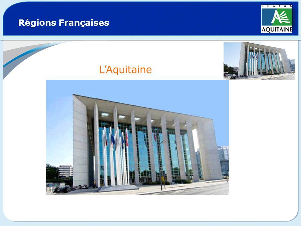 Régions Françaises LAquitaine