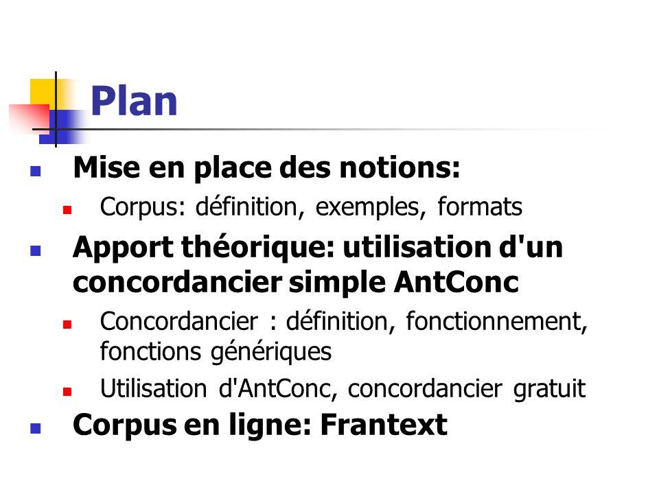Un premier exemple (II) Interprétation Un document est constitué par un élément Un est composé par un ou plusieurs éléments Un est composé par plusieurs séquences de texte, par un ou plusieurs,,