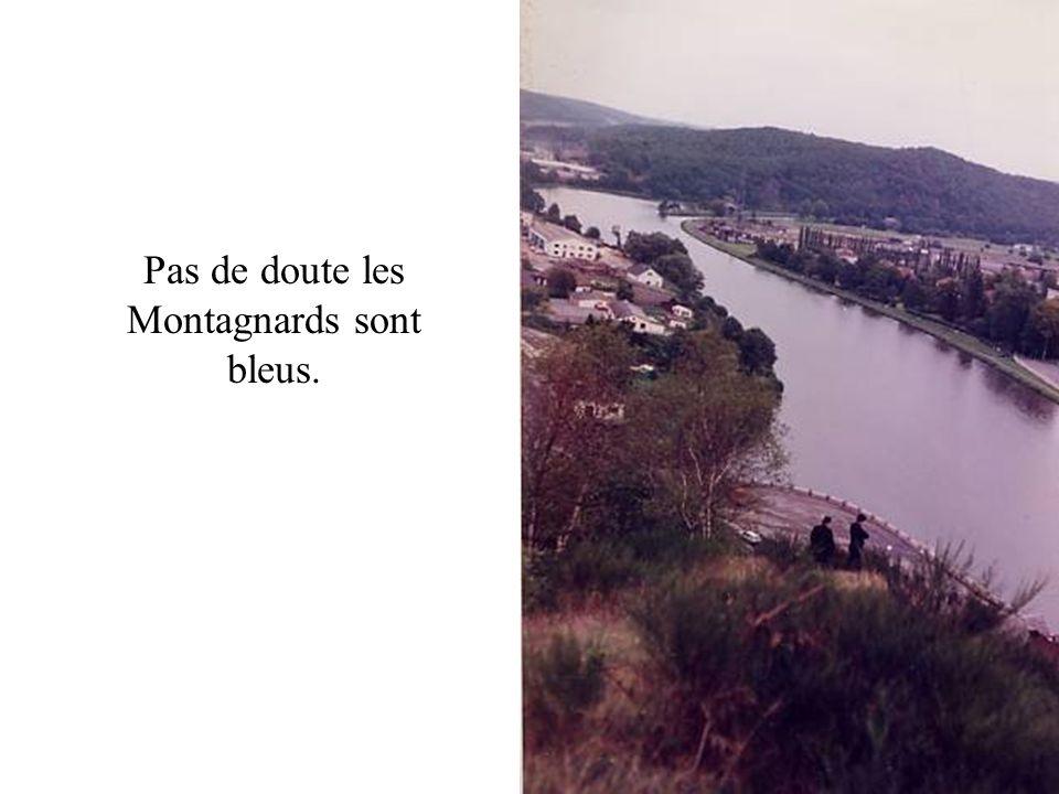 Pas de doute les Montagnards sont bleus.